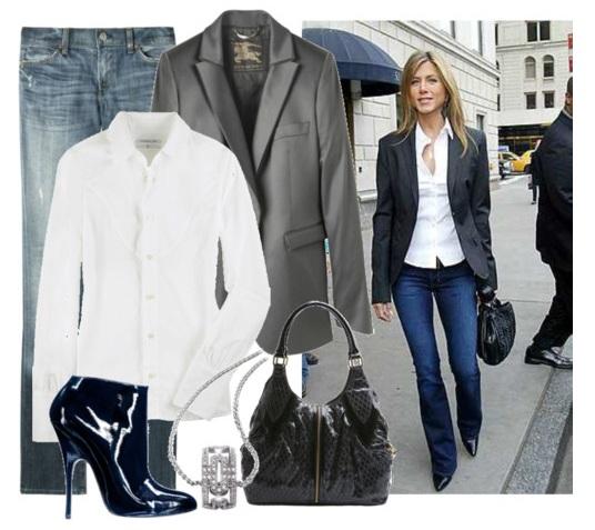 blank canvas blog friday fashion jennifer aniston