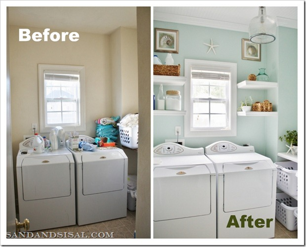 Diagenesis the perfect small laundry room for Small utility room