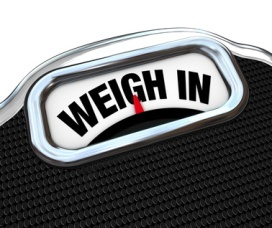 weigh in words on scale, weighloss blog, sonyacole.com