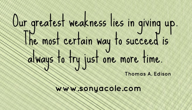 Our Greatest Weakness
