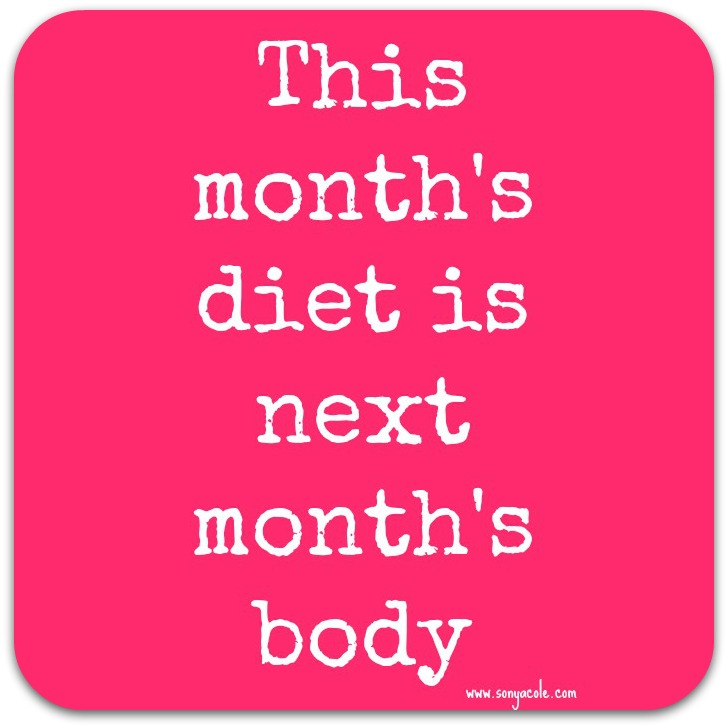 Motivation Monday – This Month\'s Diet Is Next Month\'s Body ...