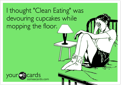 clean eating humour