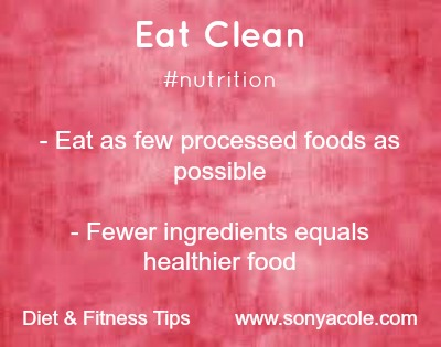 Tuesday Tip Eat Clean