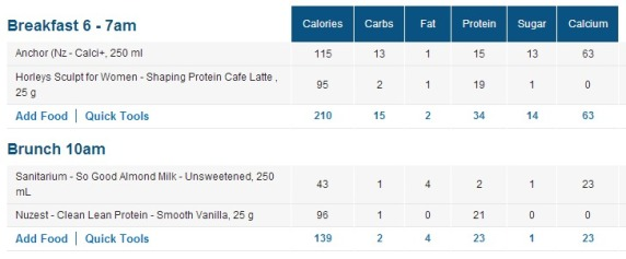 Compare Protein Drinks