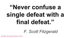 Monday Motivation F Scott Fitzgerald