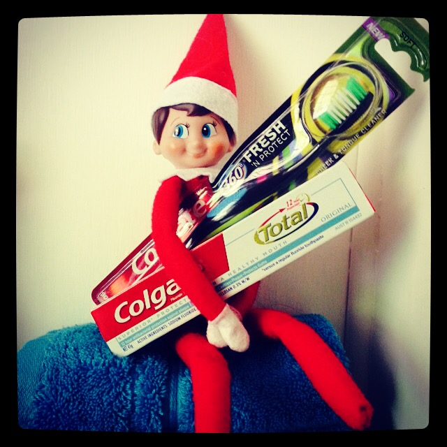 Elf On A Shelf 2014