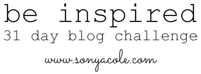 be inspired blog image