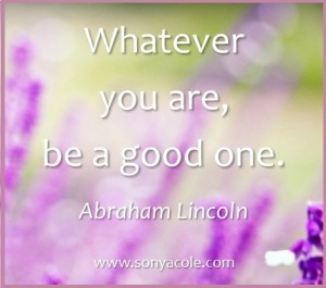 sonyacole lincoln quote